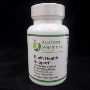 Brain Health Support / with Ginkgo Biloba & Phosphatidyl Serine