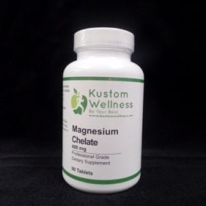 a bottle of Magnesium Chelate