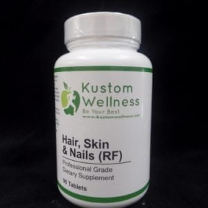 Hair and Nails Dietary Supplement by Kustom Wellness